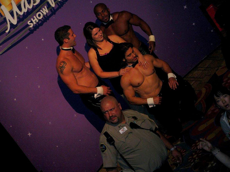 Full monty strippers